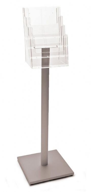 AS4230 | 4 Pocket A4 Luxury Floor Stand